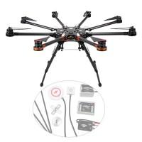 DJI Spreading Wings S1000 Octocopter FPV Foldable Multi-rotor w/ DJI WKM Flight Control Combo