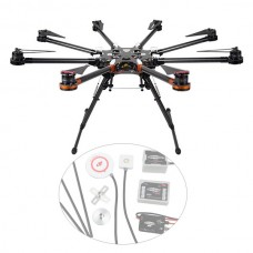DJI Spreading Wings S1000 Octocopter FPV Foldable Multi-rotor w/ DJI WKM Flight Control Combo