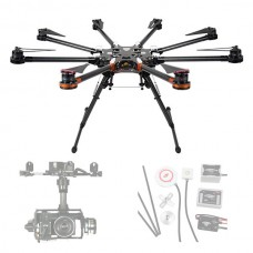 DJI Spreading Wings S1000 Octocopter FPV Foldable Multi-rotor + DJI WKM & Z15 or GH3 Brushless Gimbal