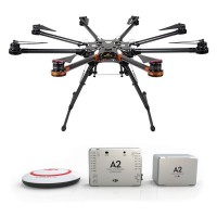 DJI S1000 Premium Spreading Wings Octocopter FPV Foldable Multi-rotor + DJI A2 Flight Control System