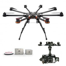 DJI S1000 Premium Spreading Wings Octocopter FPV Multi-rotor + DJI A2 Autopilot and Zenmuse  Z15 or GH3 Brushless Gimbal