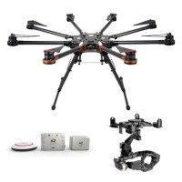DJI  S1000 Premium Spreading Wings Octocopter FPV Multi-rotor w/ DJI A2 and DJI Zenmuse 5DII or 5DIII Brushless Gimbal
