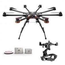 DJI  S1000 Premium Spreading Wings Octocopter FPV Multi-rotor w/ DJI A2 and DJI Zenmuse 5DII or 5DIII Brushless Gimbal