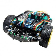 51 MCU Development Board C51 R2 Smart Car Chassis Tracking Barrier Avoidance Electronic Design Contest