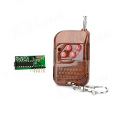 315MHz RF 4-CH Interlock Receiving Module + RC Wireless Control Set