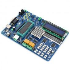 "UIJING HJ-C52 MCU 51 SCM Development Board w/ STC89C52RD Microcontroller / 2.6"" LCD Kit"