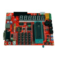 ATMEGA16 AVR Single Chip Development Board AVR Learning Board w/ ISP Programmer
