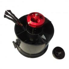 70mm Ducted Fan + B2839 3800kv Outrunner Motor For 4S 4 cells not JTM