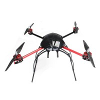 AQ-600 Carbon Fiber Quadcopter Frame 550mm FPV Multicopter Kit with Landing Skid