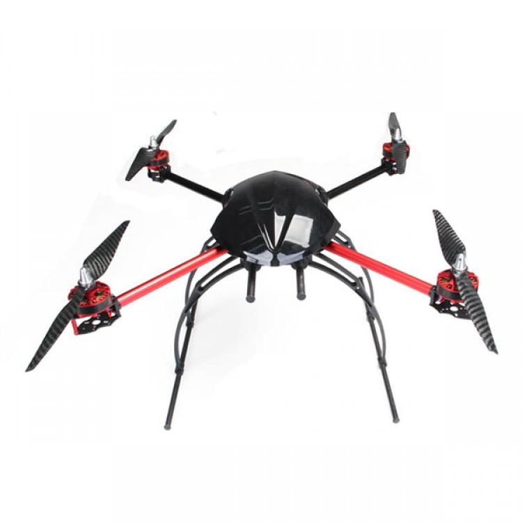 AQ-600 Carbon Fiber Quadcopter Frame 550mm FPV Multicopter Kit with ...