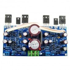 Ljm L12 Dual Channel Track Field-effect Tube Output Amplifier Board Assembled w/ Rectify Filter