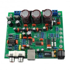 CS4398 DAC Decoder Module w/ USB Optical Fiber Input 24/192K DIY Board Kit Only