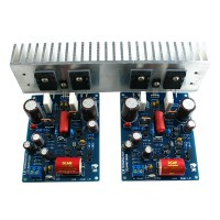 w/ Heatsink L6Ver6 Audio Power Amplifier Board Full Assembed & Tested L6 Amplifier Board