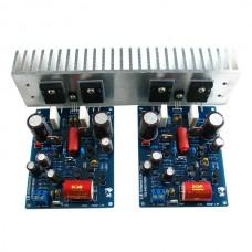 w/ Heatsink L6Ver6 Audio Power Amplifier Board Full Assembed & Tested L6 Amplifier Board