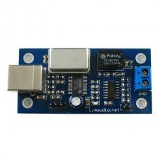 LJM PCM2704 USB to S/PDIF USB Sound Card Assembled & Tested