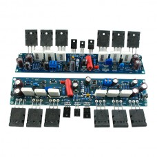 2pcs Finished L10 200W+200W Power Amplifier Dual Channel 4ohm AMP Assembled Stereo