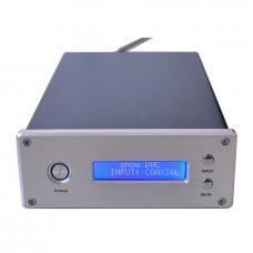 AC110V/220V Hi-Fi 24bit/192K Audio Decoder Preamp CS8416 Dual WM8741 USB Coaxial Optical DAC