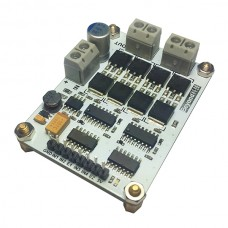 160A 5V MOS High-power Motor Driver Module Dual H Bridge for Car Platform