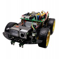 HJ-4WD-WIFI Smart Car Wifi Camera Video Transmission Remote Monitoring Intelligent Car Robot