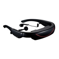 72 inch Virtual Video Glasses 3D LCD Screen AVin MP4 Video Glasses FPV Multimedia Player Digital Video Glasses