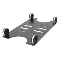 CF Battery Tray Battery Mounting Plate Board Set for DJI S800 Hexcopter