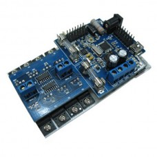 15A High Power DC Motor Driver Controller for AVR Single Chip 4WD 6WD Robotics Smar Car Chassis