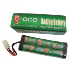2pcs ACE Ni-Mh 4500mAh/7.2V HP SC Battery Pack W/Dean Style Connector Competition Class