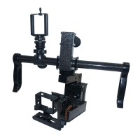 SteadyMaker 3-Axis Handheld Brushless Gimbal Stabilizer w/Motor & BaseCam Controller for Gopro 3 Camera