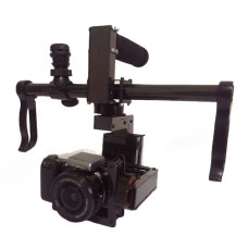 SteadyMaker 3-Axis Handheld Brushless Gimbal Stabilizer w/Motor & AlexMos Controller for Sony DSLR or Similar Mini DSLR Camera