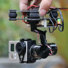 HIFLY Smart 3 Axis Ready to Fly 3 Axis Gopro Brushless Gimbal FPV Stablizer Camera