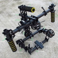 HIFLY Handle 3-Axis Brushless Gimbal/Stablizer 5208-200T Handheld Gimbal DSLR 5D mkiii Carbon Fiber