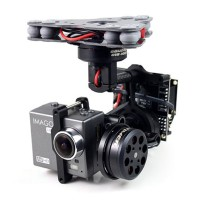 IMAGO Gopro IMP 3-Axis PPV Brushless Gimbal w/ Motors AlexMos Controller for Phantom & Other  Multi-rotors