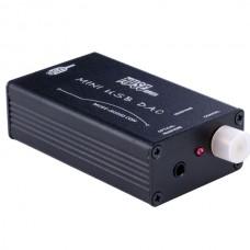 MUSE HiFi PCM2704 USB to S/PDIF Converter DAC Sound Card Amp Black