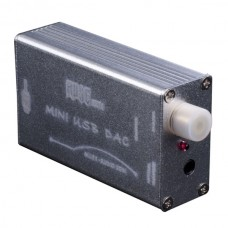 MUSE HiFi PCM2704 USB to S/PDIF Converter DAC Sound Card Amp Silver