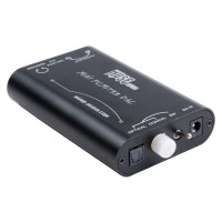 Muse MINI TDA1793 DAC (PCM1793+DIR9001+OPA2134) PC DAC Headphone Amplifier + Power Supply Black