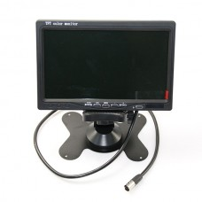 7 inch LCD Monitor TFT HD Screen FPV Monitor w/ Backcase for Car & FPV Photography 480x232