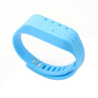 Wristband Pedometer Wireless Activity Sleep Tracker 4.0 Bluetooth - Blue