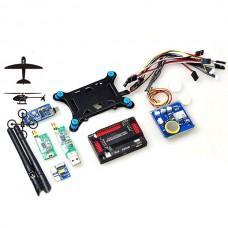APM Autopilot APM2.52 GPS w/ 915 MHz Telemetry + Power Supply Module & OSD Shock Absorber Combo