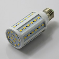 E27 12W 5630 SMD 60 LED Warm White Corn Light Lamp Bulb 3000K Super Bright
