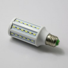 E27 12W 5630 SMD 60 LED Cool White Corn Light Lamp Bulb 6000K Super Bright