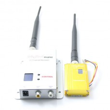 1.2G 1500mw FPV Transmitter Receiver TX RX 1.5W 6Km For RC Aircaft Multirotor Helicopter