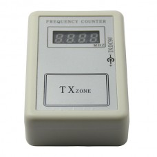 Mini Frequency Counter Portable 250Mhz to 450Mhz Wireless Frequency Counter Meter DC 9V