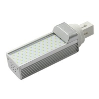G24 Cool White 3000K 55 LEDs LED Light Bulb 3014SMD 7W Light Lamp AC85-265V