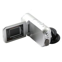 "DV168 1.5"" TFT LCD 16MP HD 720P Digital Video Camcorder Camera 8x Digital ZOOM DV - Silver"