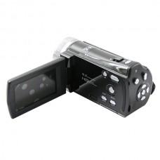 HD-56E Camera CMOS Sensor 16.0 Mega Pixels Camcorder DIS 2.7 Inch LCD Screen - Black
