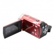 HD-56E Camera CMOS Sensor 16.0 Mega Pixels Camcorder SD/SDHC Card Support DIS 2.7 Inch LCD Silver