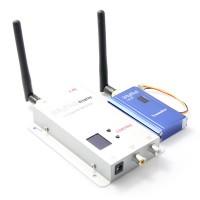 Fpv 2.4G 1000mW 12CH Wireless AV Transmitter & Receiver Mini Transmitter Audio Video Sender for RC Aircraft Multicopter