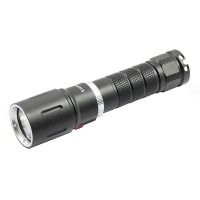 LusteFire DV-03 CREE XM-L2 T6 500lm Dimming White Diving Flashlight - Black (1 x 18650)