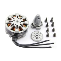 Silver TZT X3508 390KV Outter Runner Disk Type Brushless Motor for Quadcopter Hexacopter