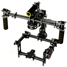 Dslr 3-Axis Handheld Brushless Gimbal/Handle Camera Carbon Mount w/5208-200T for 5D FPV
